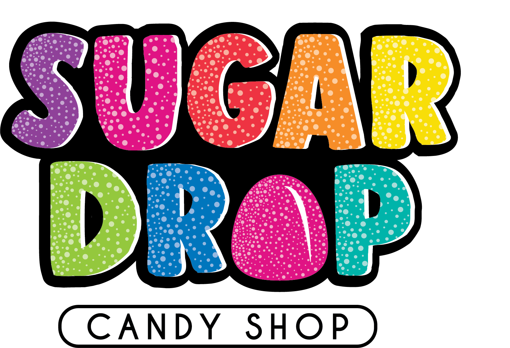 Sugar Drop Candy Shop Logo